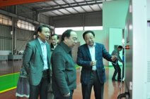 "Mr. Wen, Jianrong, deputy director of Zhejiang provincial development and Reform Commission、Mr. Wei, Daqing, vice district head and other leaders visited and inspected ""Jiali"""
