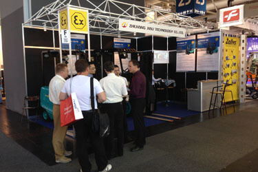 """Jiali Technology"" participle in 2014 CEMAT in Hannover"