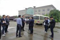杭州市經信委夏積量主任一行調研佳力科技