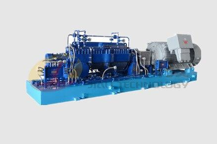Horizontal split-case oil transport pump