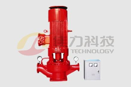 Vertical fire protection pump