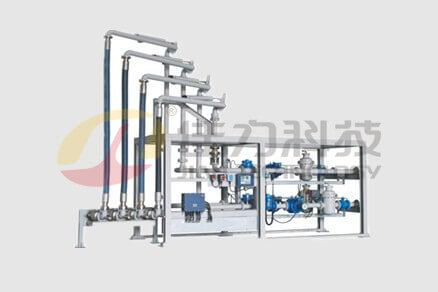 Skid-Mounted oil filling system