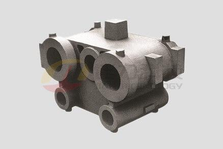 Injection oil cylinder
