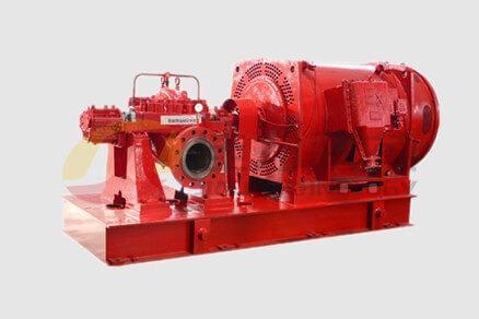 水平中開式消防泵