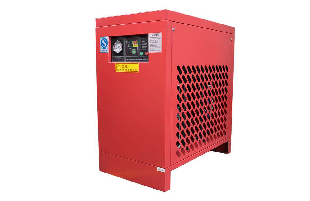High (Normal) Inlet Temperature Air-Cooling Refrigerated Air Dryer