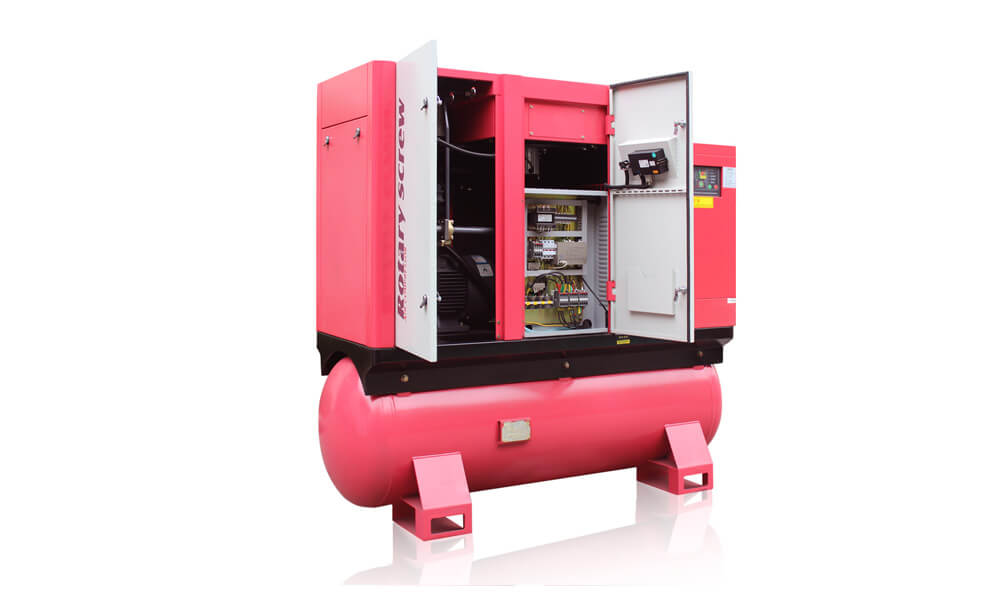 Combined Screw Air Compressor