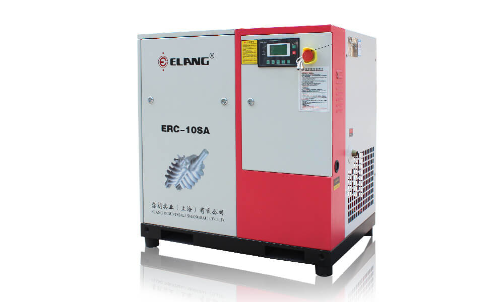 10HP 7.5Kw Belt Driven Screw Air Compressor