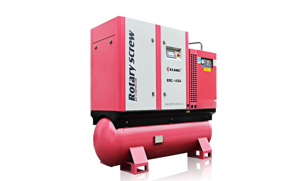 15HP 11Kw Combined Screw Air Compressor
