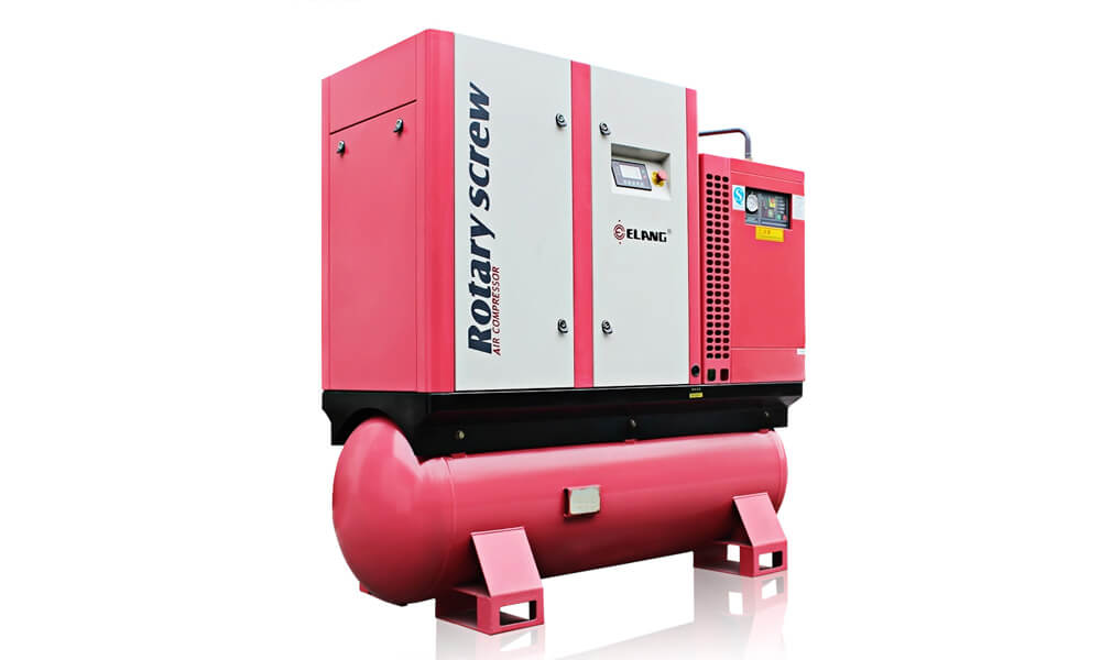 20HP 15Kw Combined Screw Air Compressor