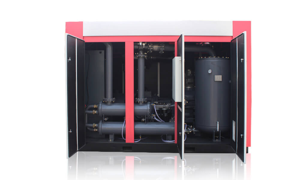 Classical Design Two Stage Screw Air Compressor