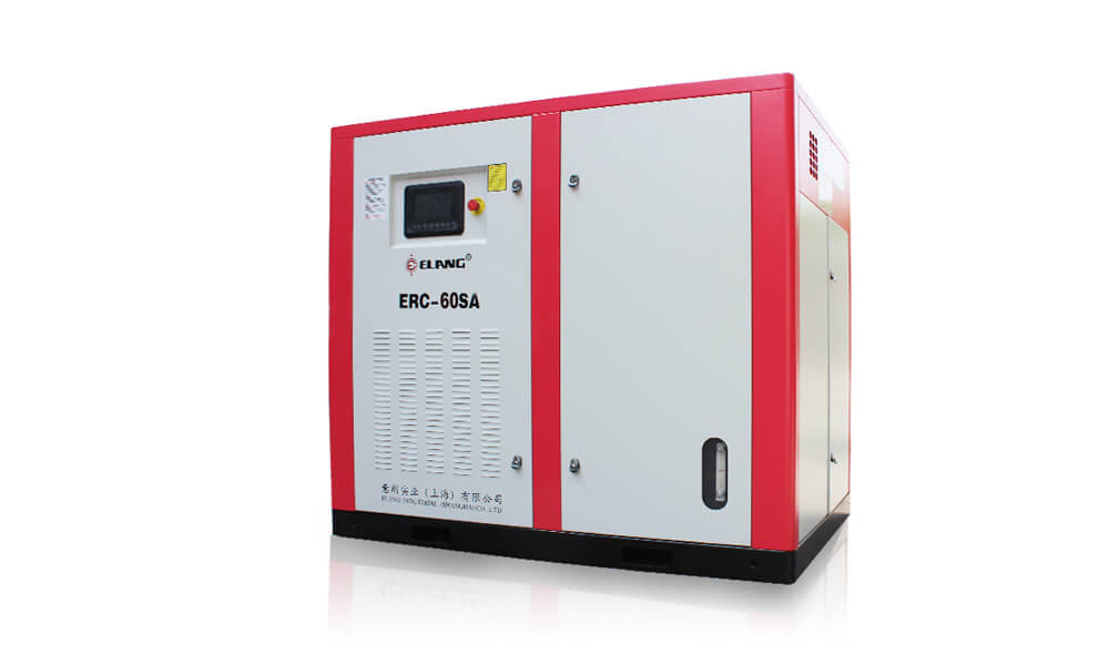 60HP 45Kw Energy Saving Two Stage Screw Air Compressor