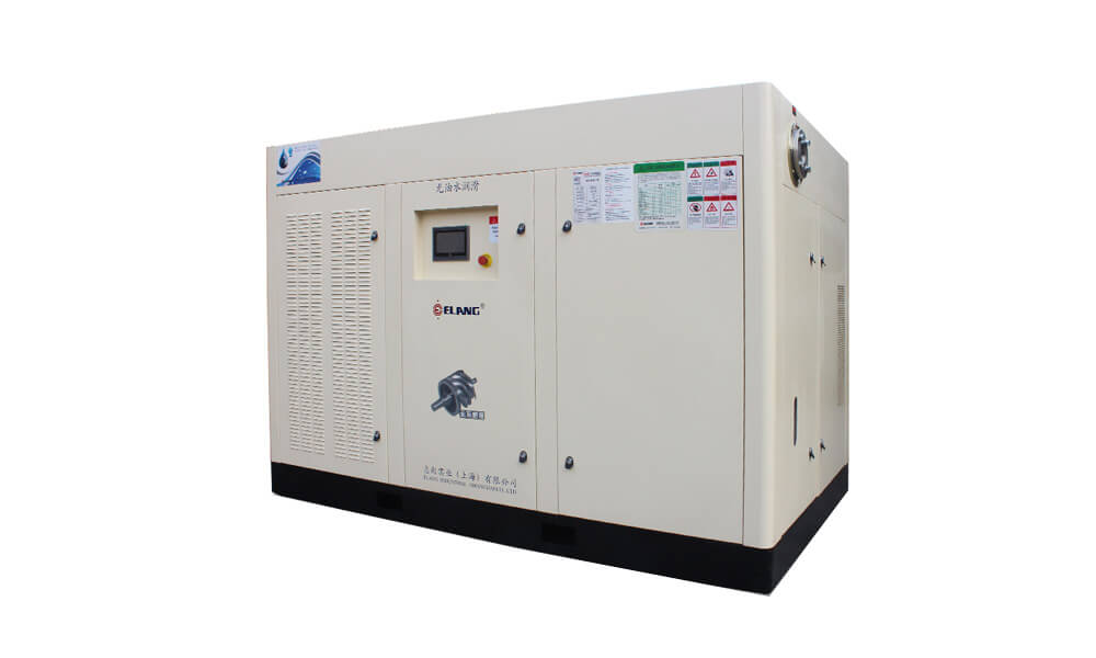 150HP 110Kw Oil Free Screw Air Compressor