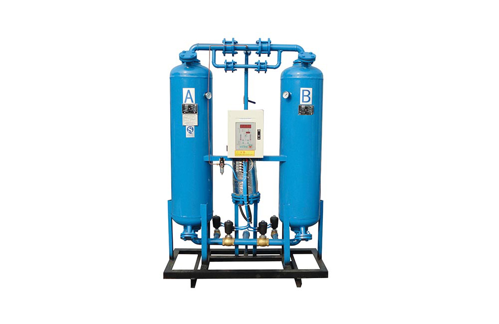 Externally Heated Purge Desiccant Compress Air Dryer