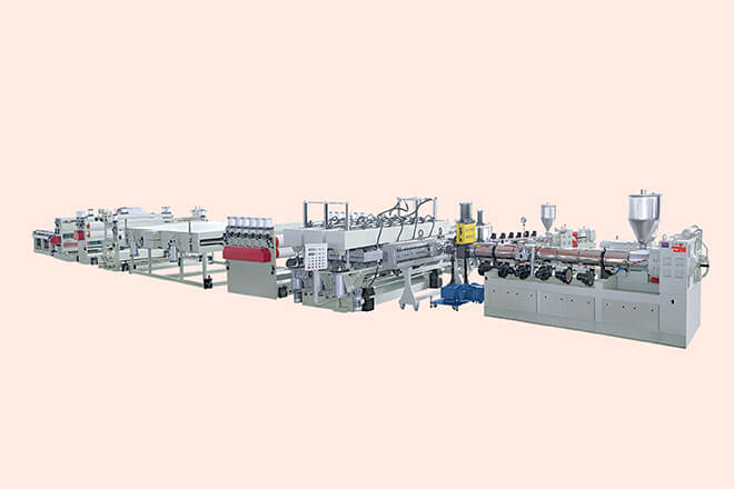 PC.PP Hollow Profile Board Production Line