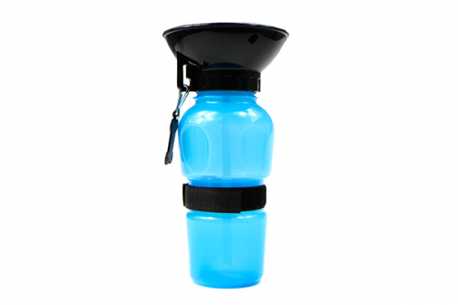 Inhaled Pet Dog Squeeze Water Bottle And Easy Sucking Convenient Portable Feeding Water Bowl