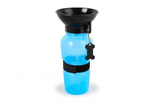 Squeezing Pet Dog Water Bottle