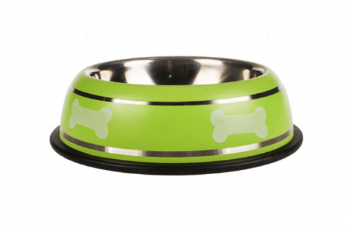 Fashion Multicolour Eco-Friendly Stainless Steel Pet Dog Bowl