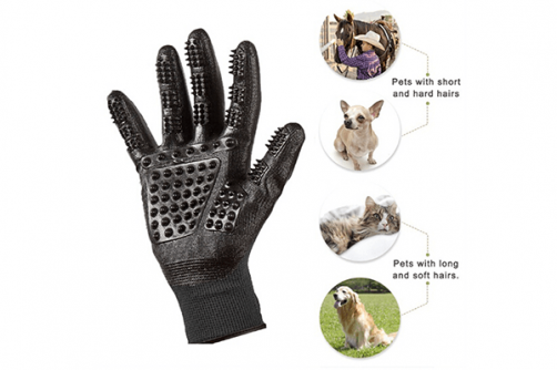 Five Finger Comb Glove Pet Massage Mitt Pet Glove