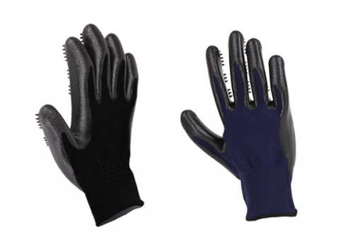 Rubber Pet Glove Dog Hair Glove