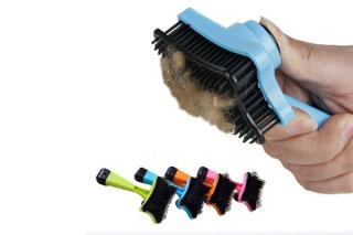Colourful Pet Grooming Brush Pet Grooming Comb