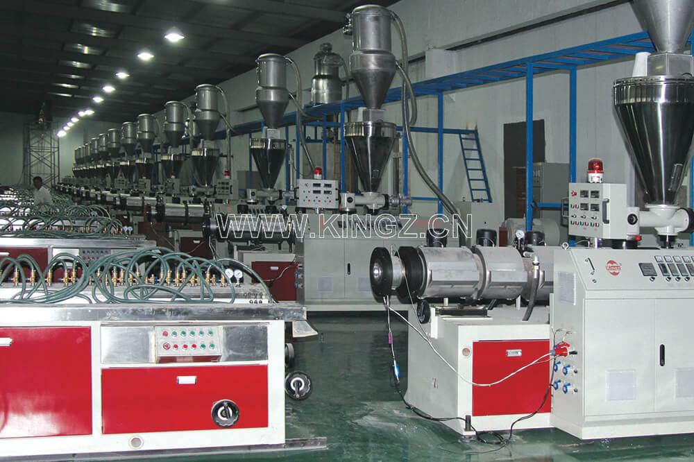 PE/PP WPC Extrusion Line