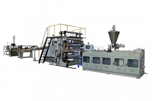 PVC Faux Marble Sheet Extrusion Line