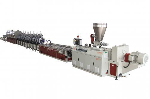 PVC Faux Marble Strip Extrusion Line