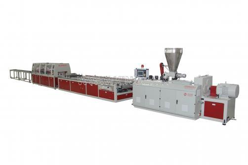 WPC Wide Door Extrusion Line