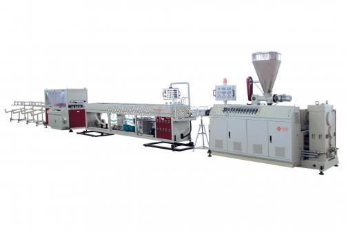 Four-Strand PVC Pipe Extrusion Line