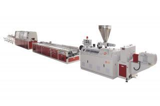 PVC Cable Trunking Extrusion Line