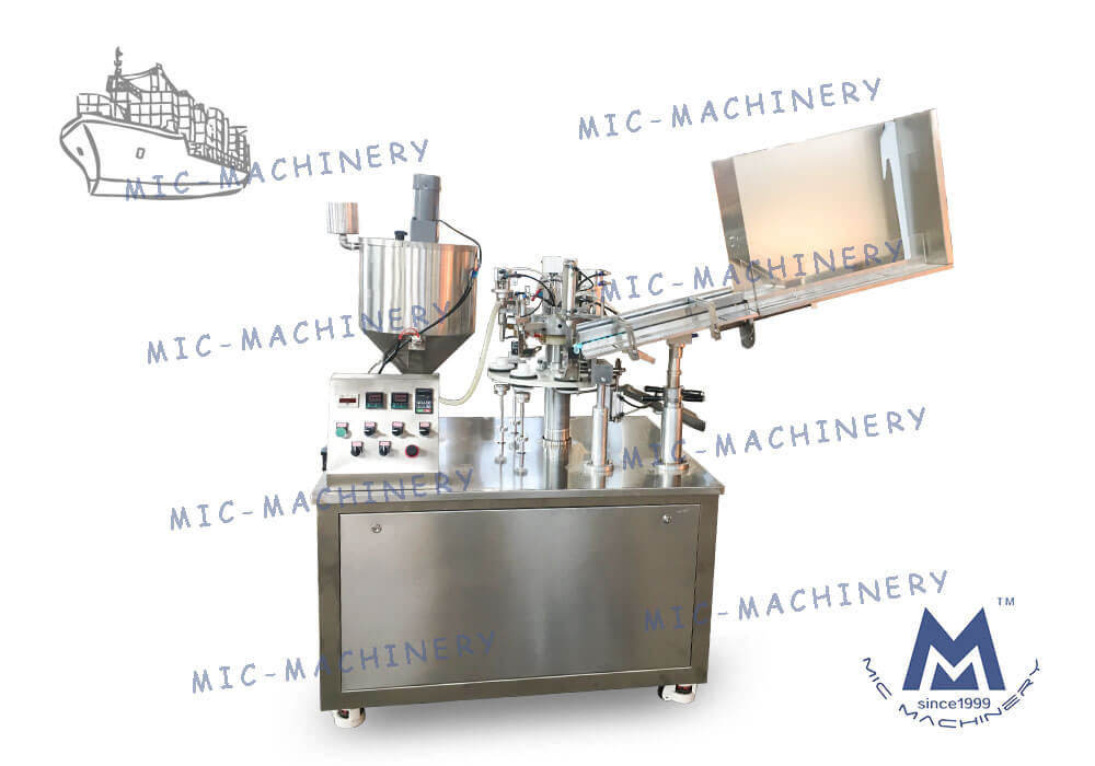 MIC-R45 Small Automatic Filling Machine Exported to Canada