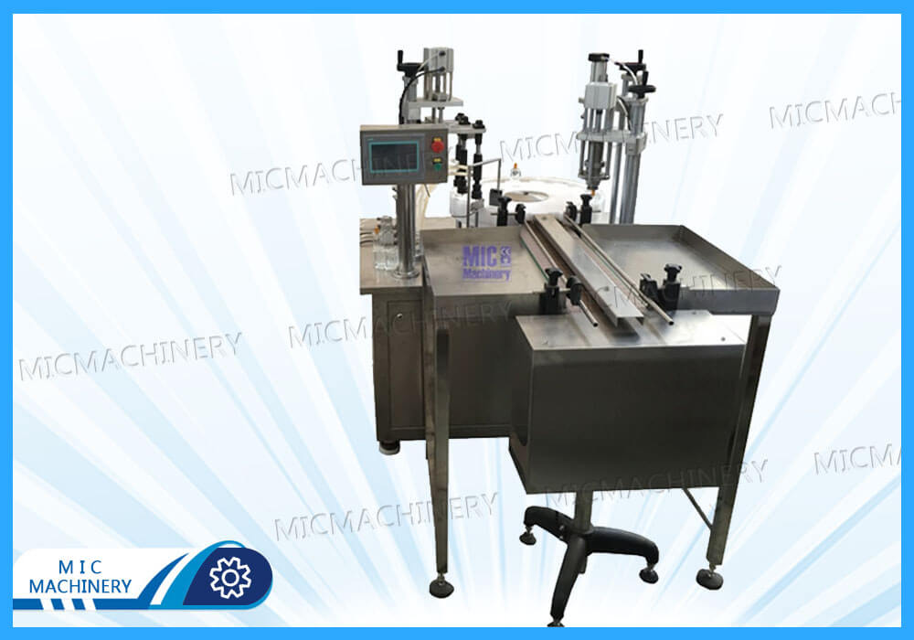 Export Greece Perfume Filling and Capping Machine