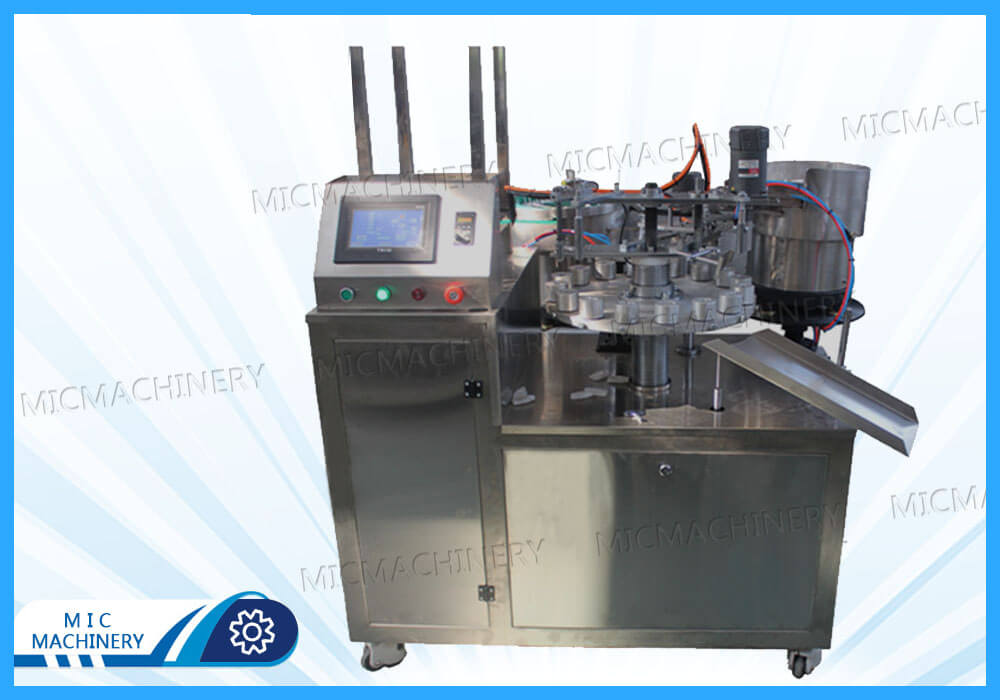 Export India 502 Glue Filling and Capping Machine