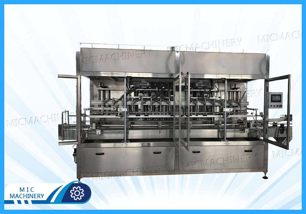 Oil filling machine exported to Uruguay