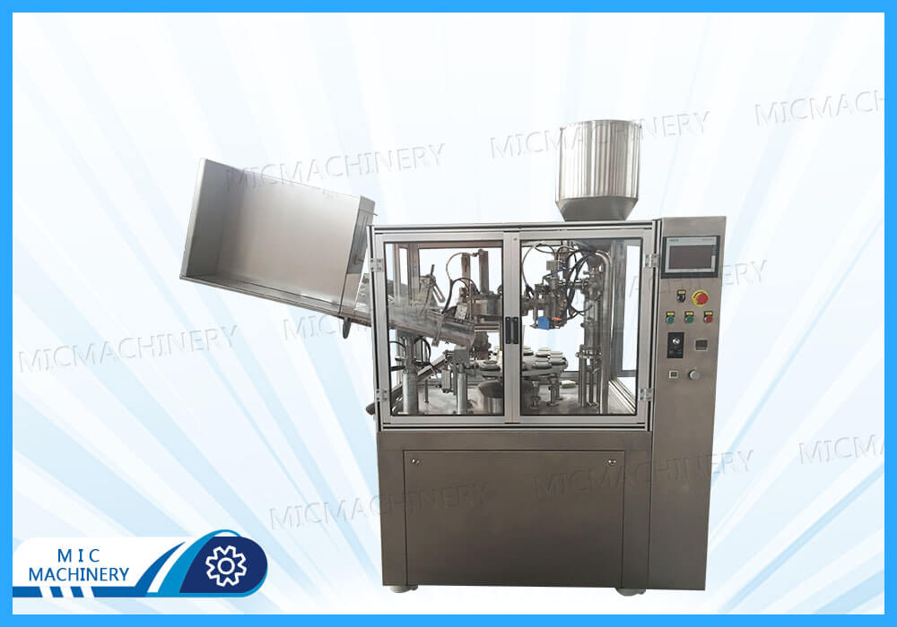 MIC-R60-I filling and sealing machine exported to India