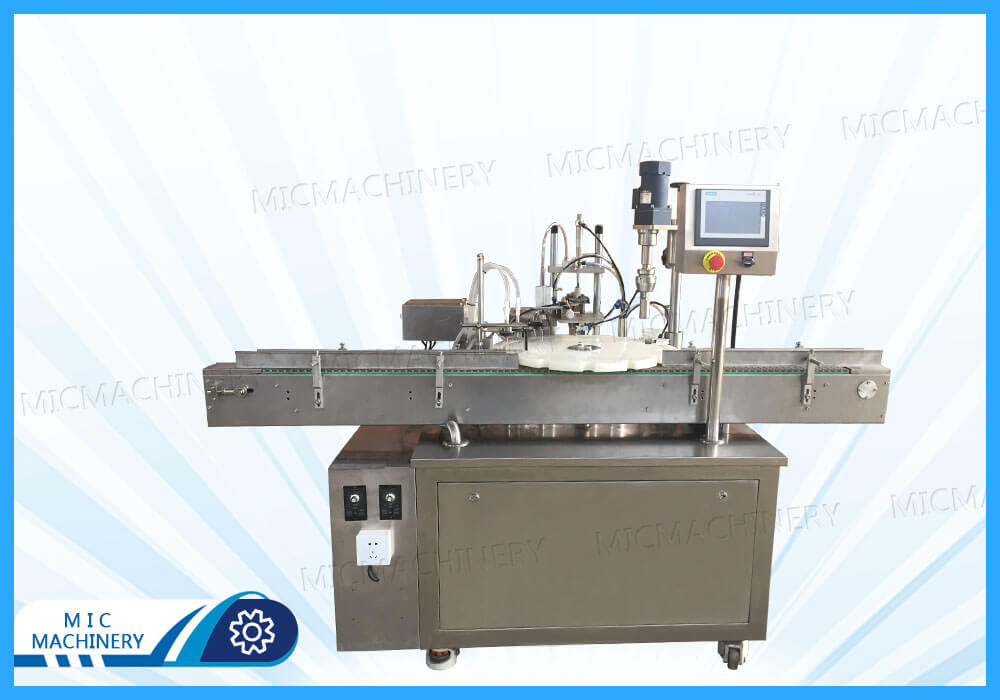 Export to USA E-liquid Filling and Capping Machine