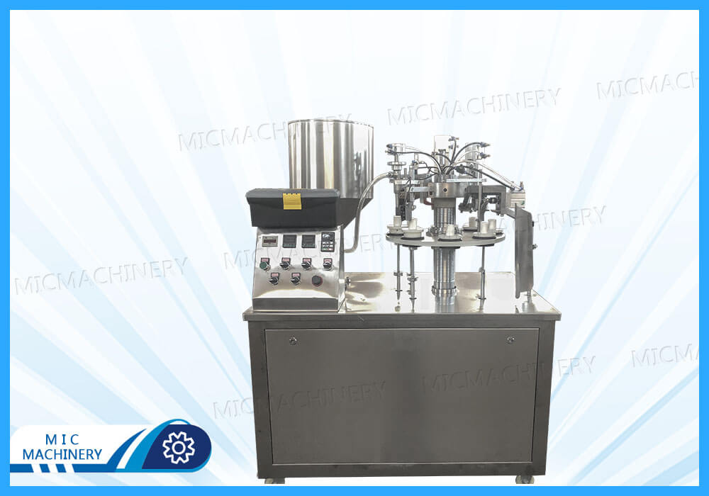 MIC - R30 filling machine and air compressor shipped to the United States