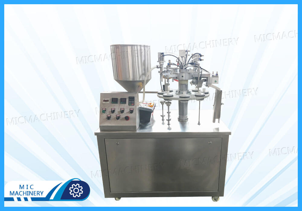 MIC-R30 filling and sealing machine exported to Salvador