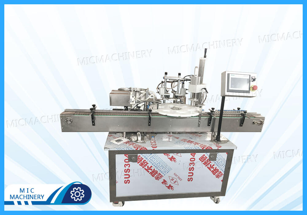 MIC-L40 Schering bottles Filling Machine Purchased by Domestic Customers