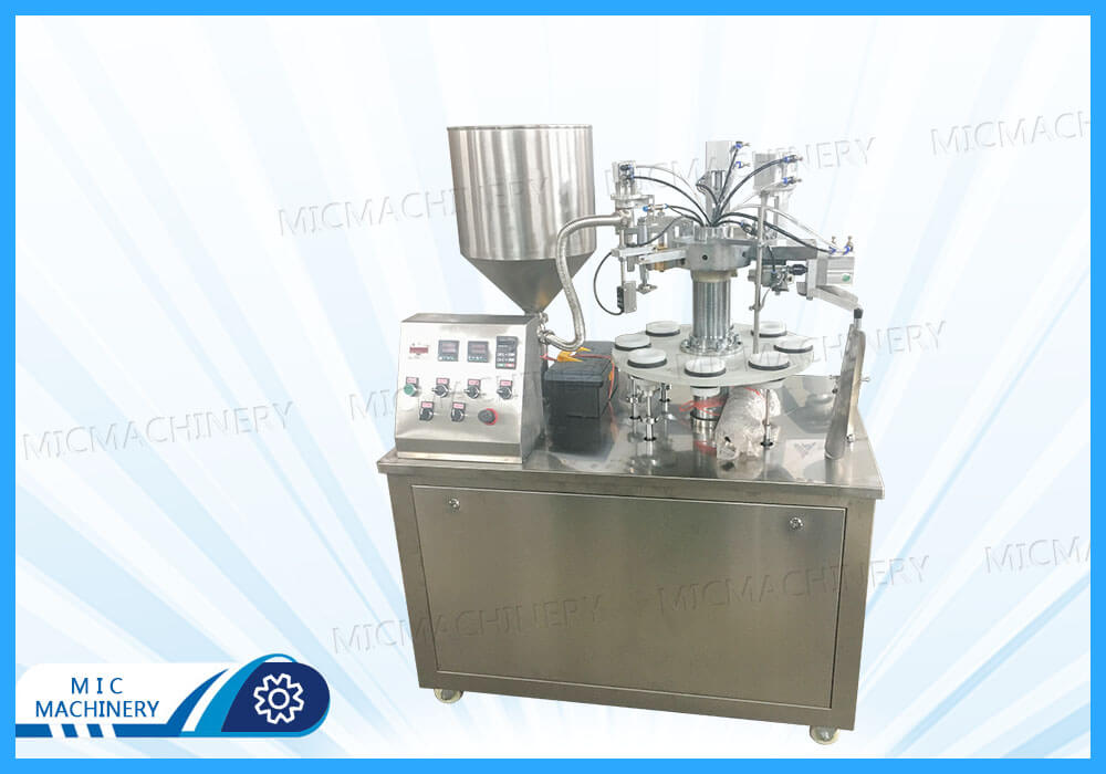 MIC-R30 Semi-automatic Soft Filling Sealing Machine for Poland