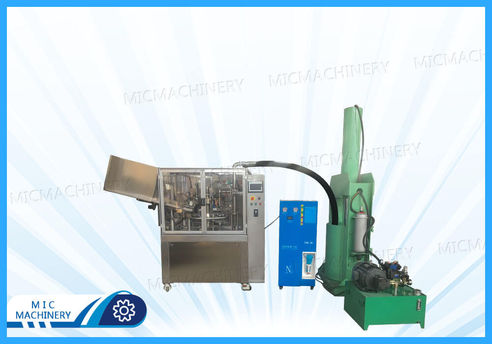 MIC-L60-I silica gel filling and sealing machine exported to Thailand