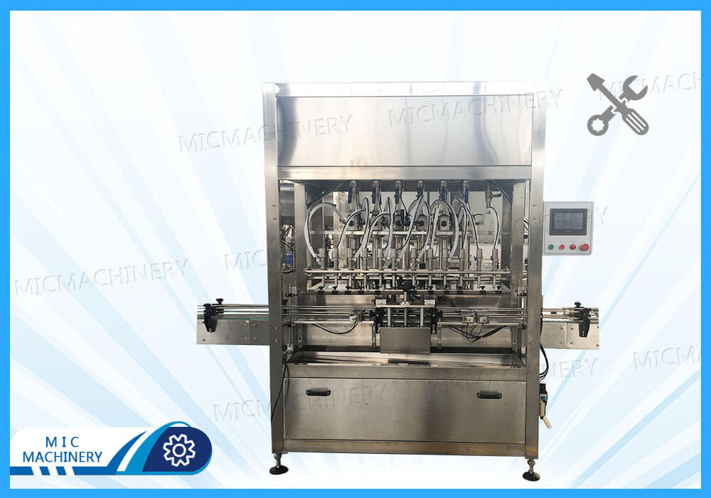 Install MIC-ZF12 filling capping machine for French customers