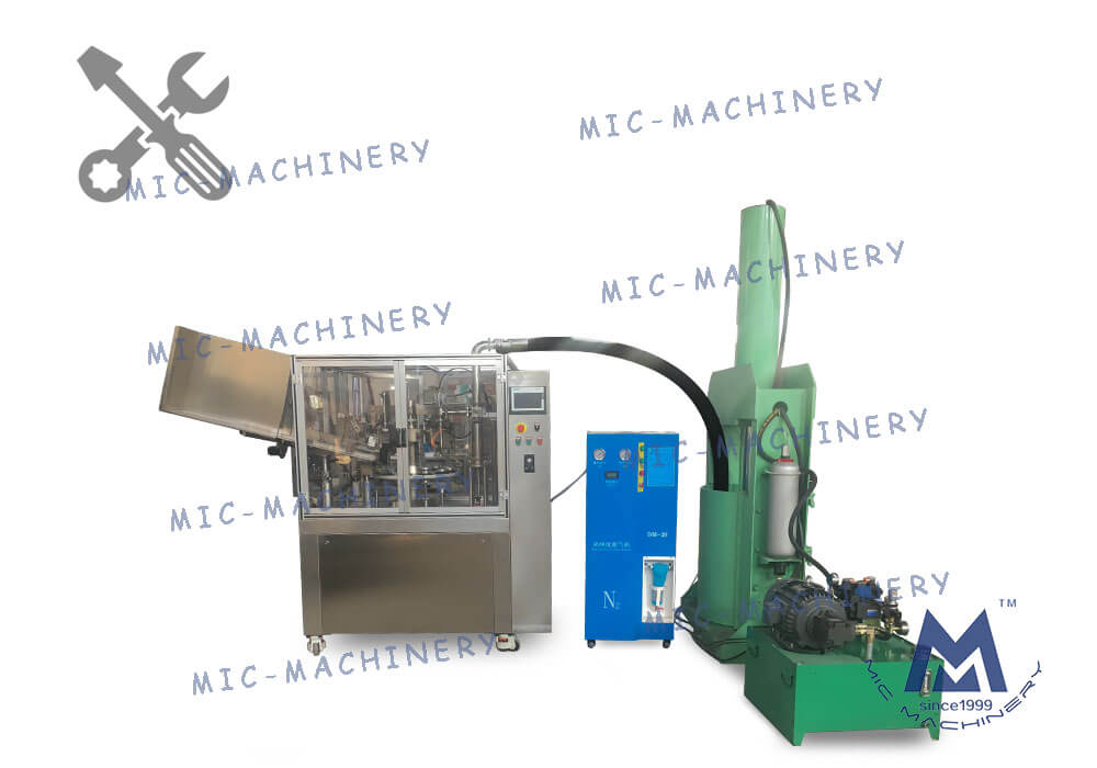 Commissioning of MIC - L60I Automatic Aluminum Tube Filling and Sealing Machine