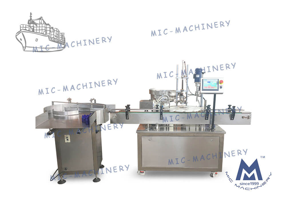 MIC-E40 E-liquid Filling Capping Machine for US Customers