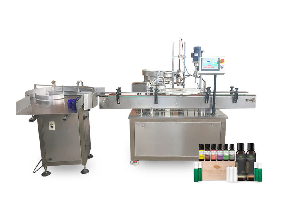 Essential oil filling capping machine