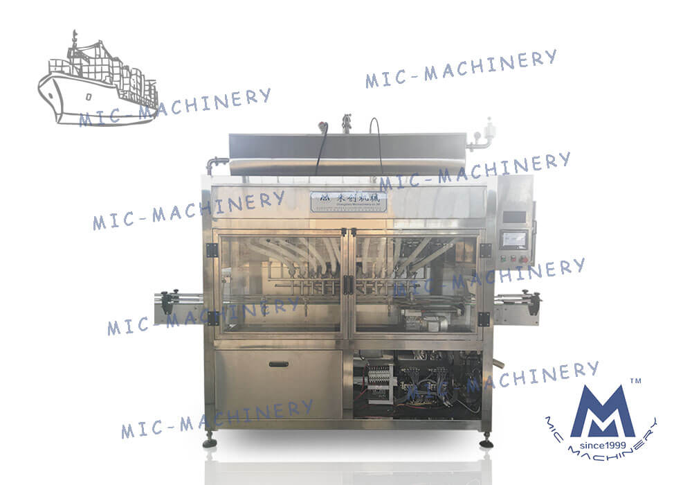 MIC Export to USA automatic pepper sauce filling packing machine line