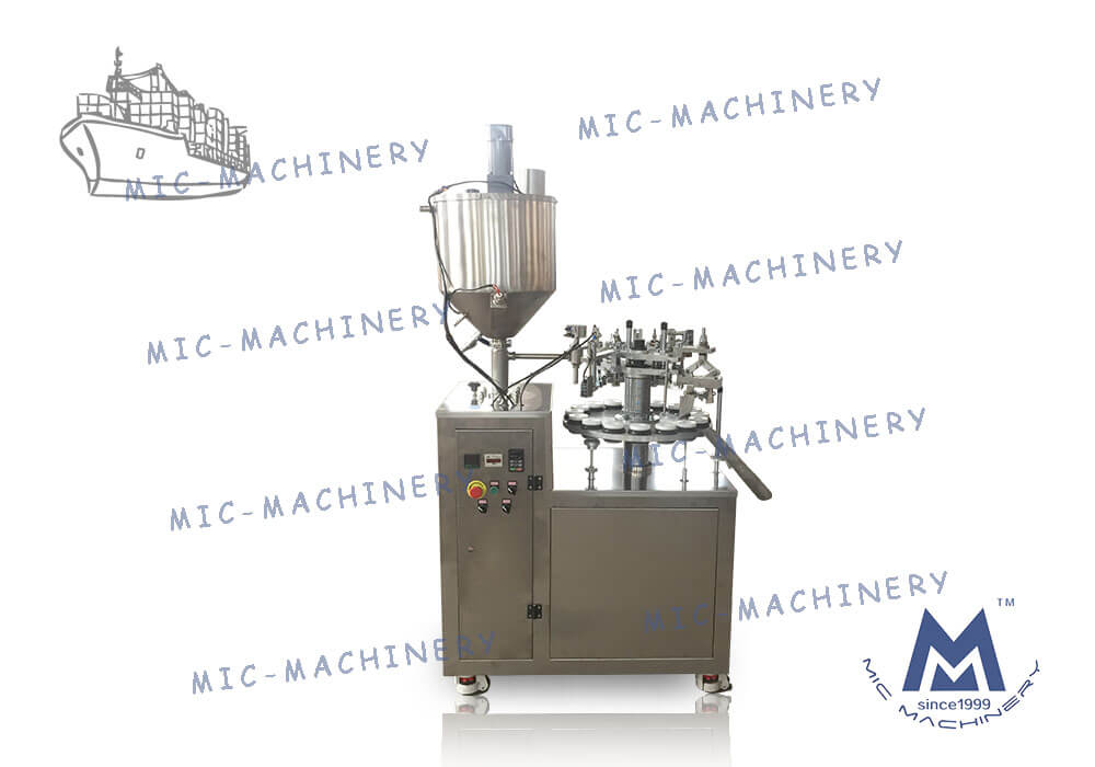 MIC - L30-I Aluminum tube filling machine Customized for US Customer