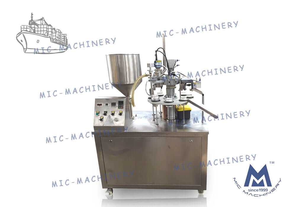 Export to Canada of R30 tube filling sealing machine