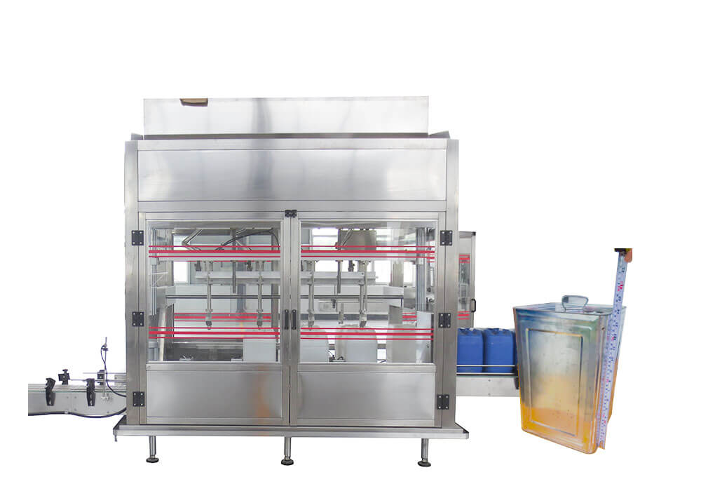 Edible oil filling machine