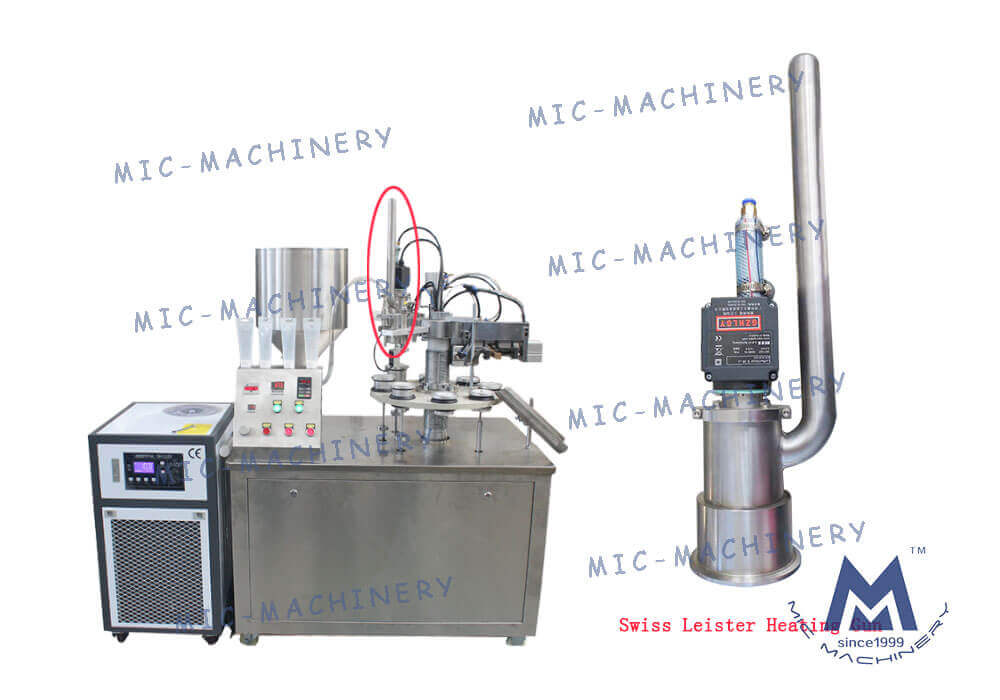 Introduction Of The Swiss Leister Heating Gun Machine